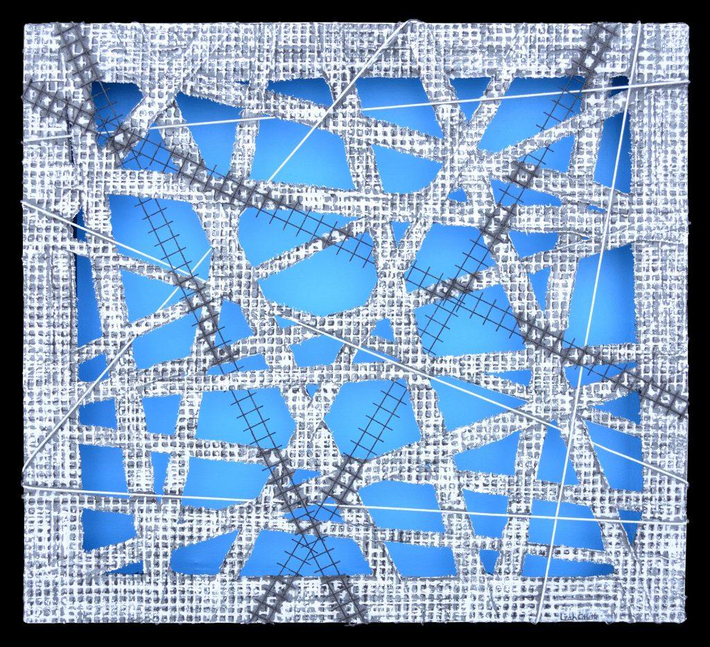 The Matrix-Blue, Petite by Leah Gillette